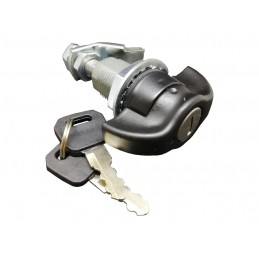Compression latch locks