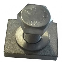 Roof rack rail nut 24mm x 19mm