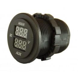 Volt Meter Dual - 5 to 60...