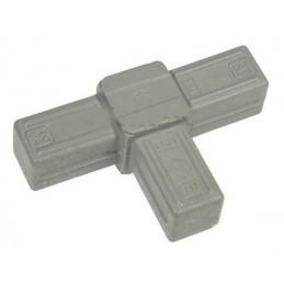 3 Way T-Piece Grey 19mm -...