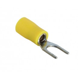 Fork Terminal Yellow M6