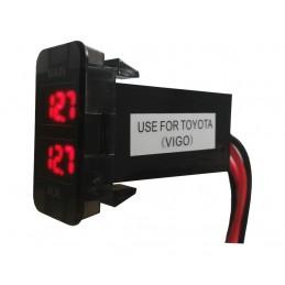 Dual Volt meter -12 Volt DC...