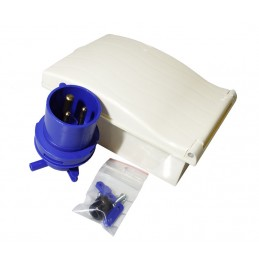 Caravan Inlet box - WHITE