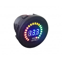 Volt Meter Panel Mount LED...