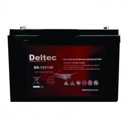 100 Ah AGM Battery - Deltec