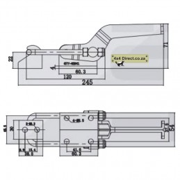 Latch Type Toggle Clamp -...