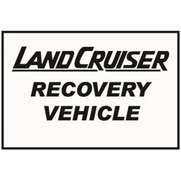 Land Cruiser Recovery...
