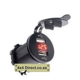 USB Charger With Volt Meter...