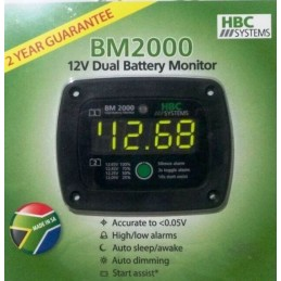 HBC Dual Battery Monitor -...