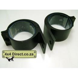 51mm-63 mm Spot brackets Black
