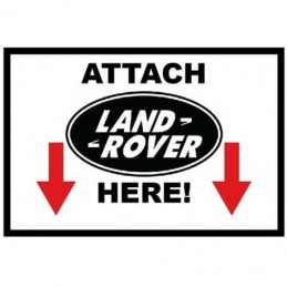 Attach Land Rover Here -...